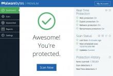 Jual Malwarebytes Premium 1PC 1Thn murah di Malang