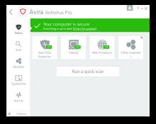 Jual Avira Antivirus Pro murah di Palembang