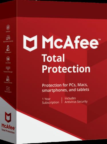 Jual McAfee Total Protection Original Garansi Resmi dan Murah di Jakarta